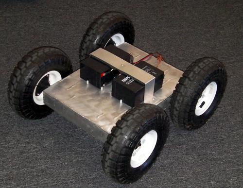 4WD HeavyDuty ATR Assembled Robot with 10 inch tires - SOLD