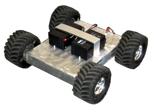 4WD HeavyDuty ATR Assembled Robot - SOLD