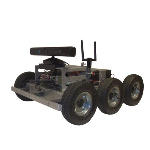 CUSTOM 6WD Programmable Xbox Kinect Robot - SOLD