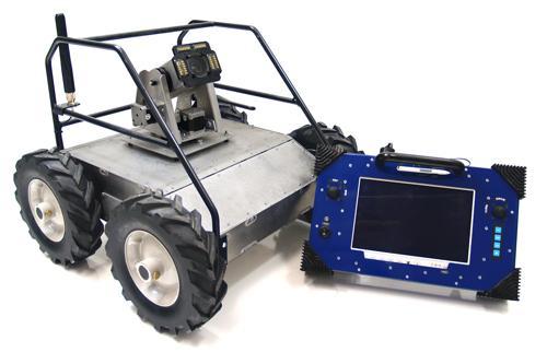 CUSTOM 4WD Heavy Duty Enclosed Mining Robot - IG42 DB - SOLD