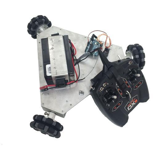 NEW Prebuilt Tri-Wheel Vectoring Robot Kit  - IG32 Medium Duty SB