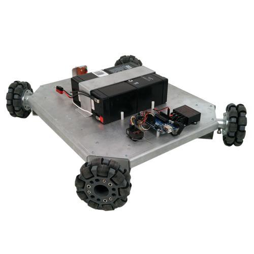 NEW Prebuilt Programmable Quad-Wheel Omni-Directional Vectoring Robot - IG32 SB