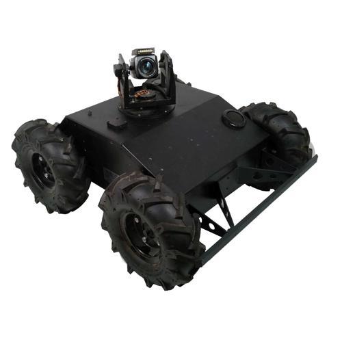 NEW Prebuilt Wi-Fi Enclosed 4WD Tactical Robot with Tablet Controller - IG42 SB