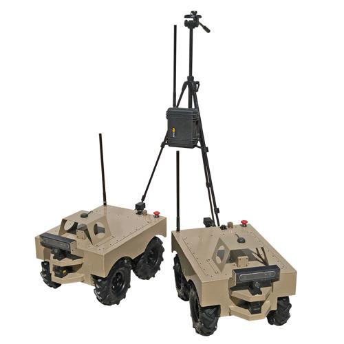 Custom Pair of ROS Autonomous Agriculture Robot - SOLD