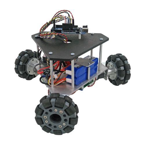 NEW Prebuilt Programmable Triangular Omni Wheel Vectoring Robot - IG32 DM