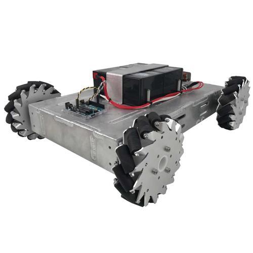NEW Prebuilt Programmable Mecanum Wheel Vectoring Robot - IG42 DB - SOLD