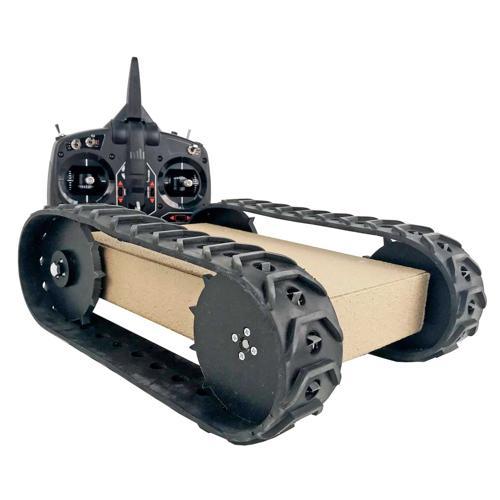 NEW Prebuilt MLT-JR Tracked Robot RC Platform 75 RPM - SOLD