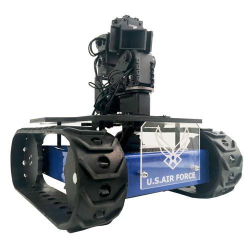 CUSTOM MLT-JR Tracked Robot RC Platform with 6-axis Arm - SOLD