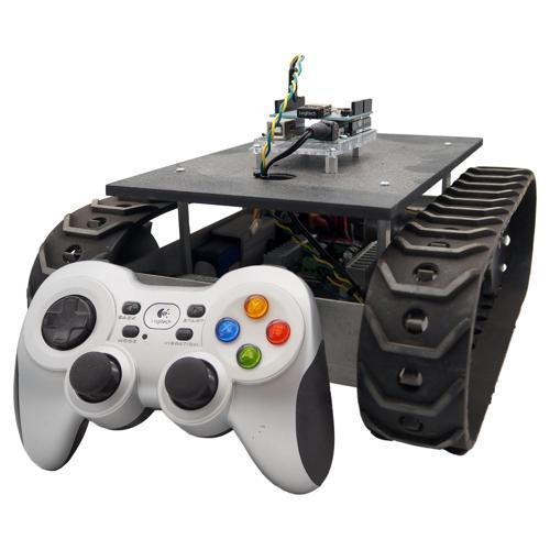 NEW Prebuilt MLT-JR Wireless Tracked Development Robot