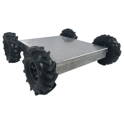 NEW Prebuilt - 4WD IG52-SB-T Custom Size Robot with Traction Tires