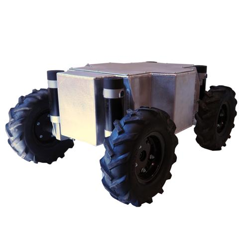 Prebuilt - WC1000-DM4-E All Terrain Enclosed Robot Platform - SOLD
