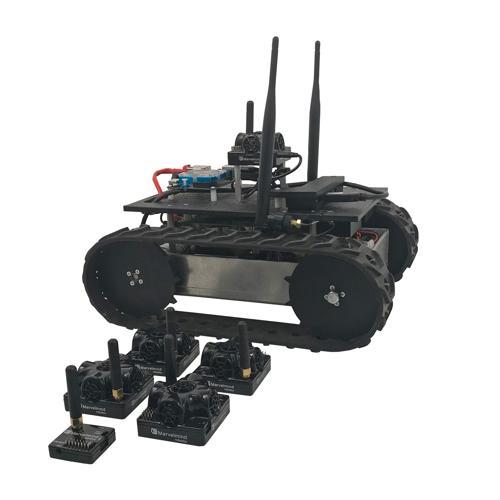 Configurable - ROS Autonomous Programmable IPS Tracked Robot