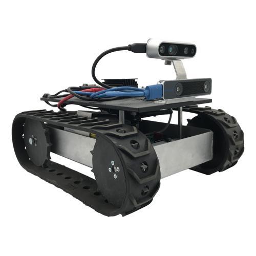 Autonomous Programmable Vision ROS Tracked Robot