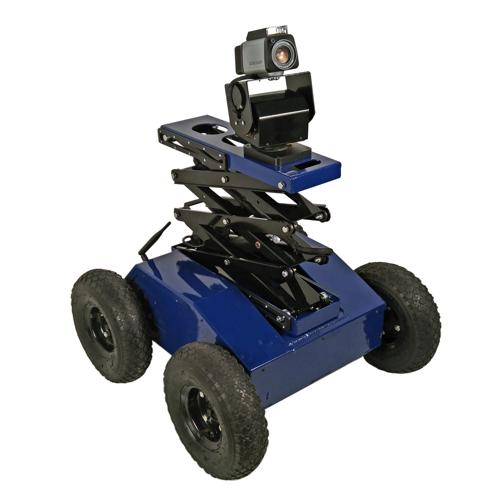 Configurable - PTW-42-L 4WD Inspection and Patrol Robot with Scissor Lift and PTZ Camera