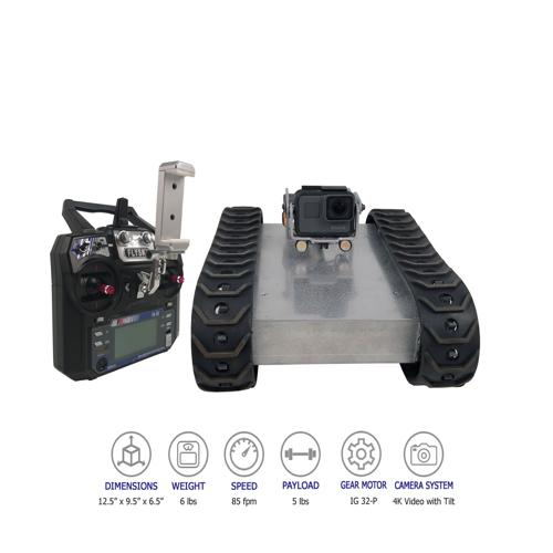 SGT-32P Wireless Tracked Inspection Robot with GoPro - DISCONTINUED