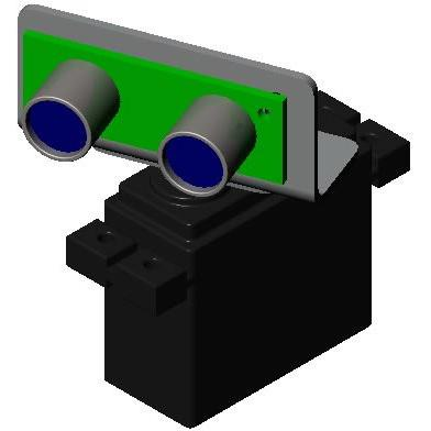 Trekker Sweeping SRF04 Ultrasonic Scanner Package - ON SALE