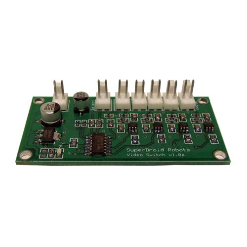 Video Switch Multiplexer PCB - 4 Camera - DISCONTINUED